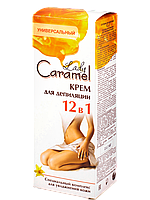 Крем для депиляции 12в1 200мл Caramel