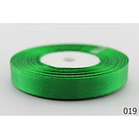 Лента 0,6 см атласная зеленая