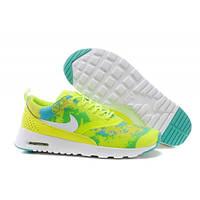 Женские кроссовки Nike Air Max Thea салатовые