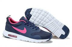 Женские кроссовки Nike Air Max Transit cине-розовые