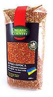 Зерно проса неочищенное  для проращивания Organic Country 400 г