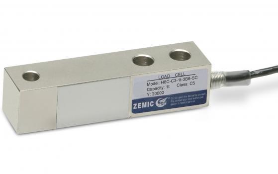 Балковий тензометричний датчик ZEMIC H8C 10т, клас точності C4 (H8C-C4-10T-6B)