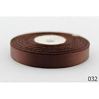 Лента 0,6 см атласная шоколад