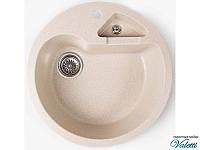 Кухонная мойка из керамогранита Valetti 510 с дополнительной чашей, фото 1