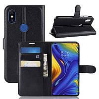 Чехол-книжка Litchie Wallet для Xiaomi Mi Mix 3 Черный