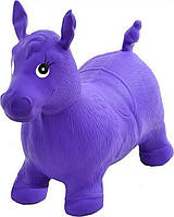 Прыгун-лошадка пони MS 0001 (Фиолетовый) 60х25х40 см