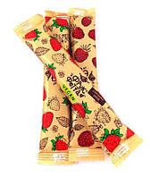 Ягодная конфета-пастила клубника с тростниковым сахаром  Sergio  20 г