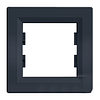 Рамка однопостовая Антрацит Schneider Asfora plus (EPH5800171)
