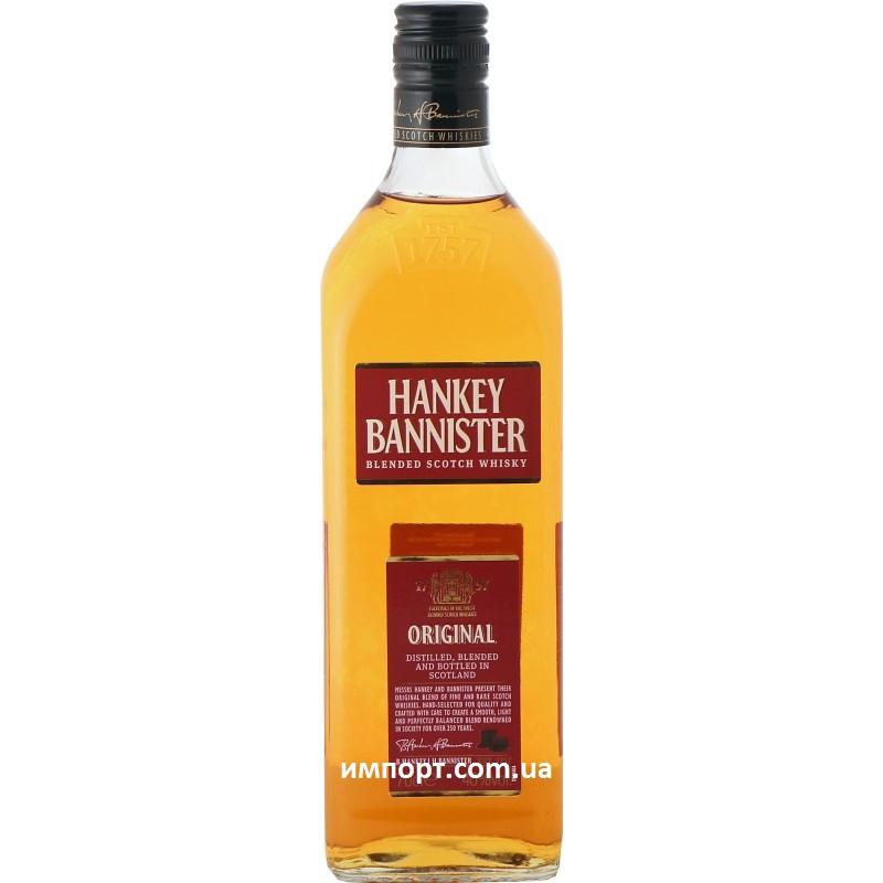 Шотландский виски Ханки Баннистер 1л