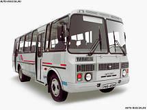 Лобовое стекло ПАЗ-3205