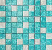 Мозаика декор Vivacer MIX BLUE