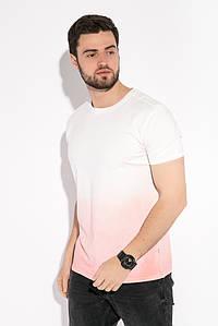 Футболка мужская с градиентом 516F128 (Молочно-розовый)