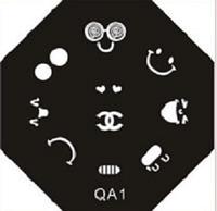 Диски для стемпинга серии QA № 01