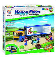 Детский конструктор Brick Счастливая ферма, Happy farm 6014