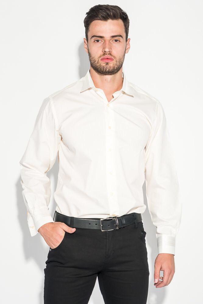 Мужская рубашка с длинным рукавом Pier Carlino айвори