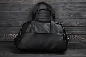Кожаная спортивная сумка (унисекс)