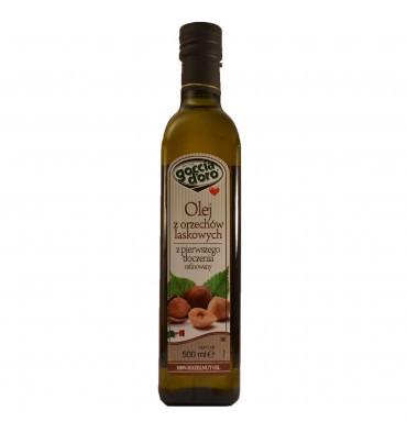 Масло из лесного ореха (Фундучное) Goccia D'Oro, 500мл