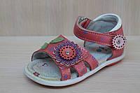 Босоножки и сандалии на девочку, детская кожаная летняя обувь, тм Tom.m р.25