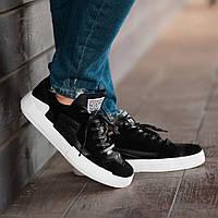 Мужские кроссовки South Extreme black, классические замшевые кроссовки, мужские замшевые кеды