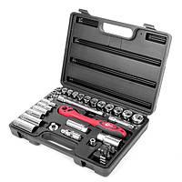 Профессиональный набор инструментов 39 ед. в ударопрочном кейсе INTERTOOL ET-6039