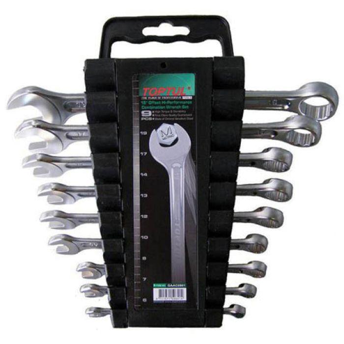 Профессиональный набор ключей для автомобиля TOPTUL GAAC0901 9 ед