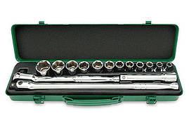 Набор инструмента 15 ед. 6-гранный Toptul GCAD1508