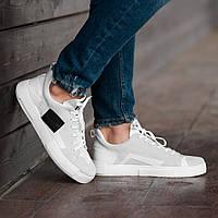 Мужские кроссовки South Extreme white, замшевые белые мужские кроссовки, замшевые классические кеды