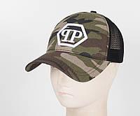 Бейсболка вышивка сетка PP1901 камуфляж, фото 1