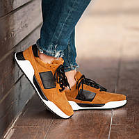 Мужские кроссовки South Army apricot, классические замшевые кроссовки, мужские замшевые кеды