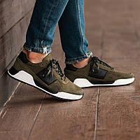 Мужские кроссовки South Army Khaki, классические замшевые кроссовки, мужские замшевые кеды