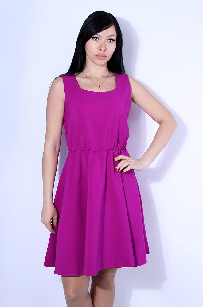 Платье женское фуксия размер М