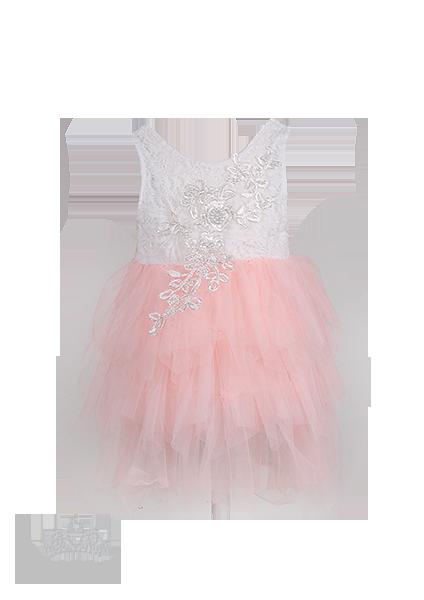 Нежное красивое вечернее платье для девочки