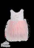 Нежное красивое вечернее платье для девочки, фото 1