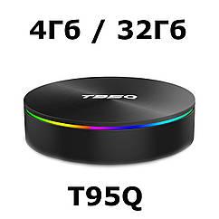 T95Q 4/32 | S905X2 | Smart TV Box | DDR4 | Смарт ТВ Приставка (+ налаштування)