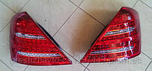 Фонари задние на Mercedes S-Сlass W221