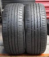 Шины б/у 225/50 R17 Bridgestone Dueler H/P, ЛЕТО, пара, 6 мм