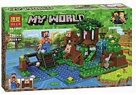 Конструктор Bela Minecraft Дрессировка обезьян 226 деталей (10961)