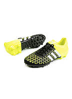 Бутсы Adidas 48 Желтый, Черный, Серый