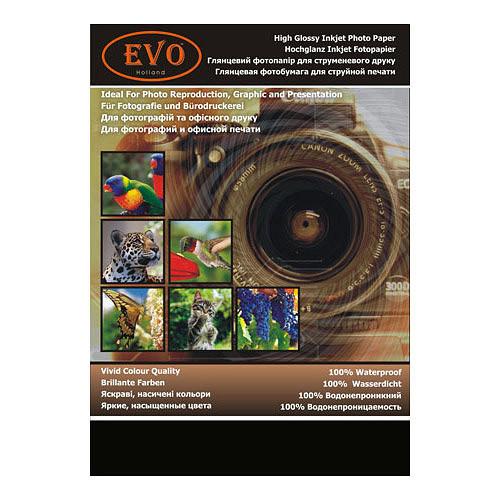 Глянцевая фотобумага двухсторонняя EVO 155г A4 20 стр