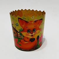 Бумажная форма для выпечки Пасхи, итальянская бумага (7х8.5см), фото 1