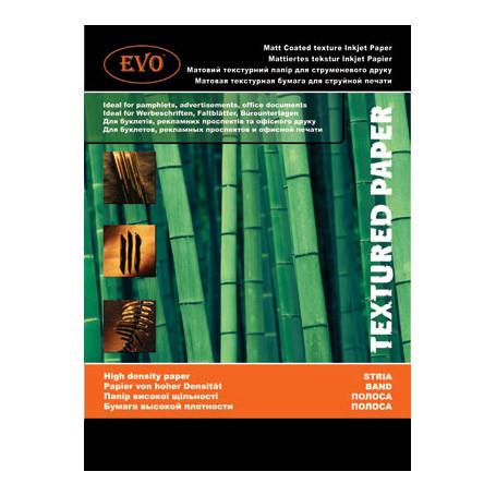 Матовая двусторонняя текстурная бумага EVO 220г A4 50 стр. (полоска)