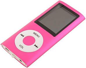 HiFi MP4-плеер MP4 1.8д розовый в стиле iPod корпус метал Поддержка fm Радио TF карты MP4 видео