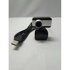 Web  камера DL-1C черная 10Mp крепление прищепка с микрофоном