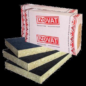 Базальтовая вата Izovat 80 FG 1000х600х100 мм (4.2м2), фото 2