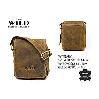 Шкіряна сумка через плече 250591-MH, фото 1