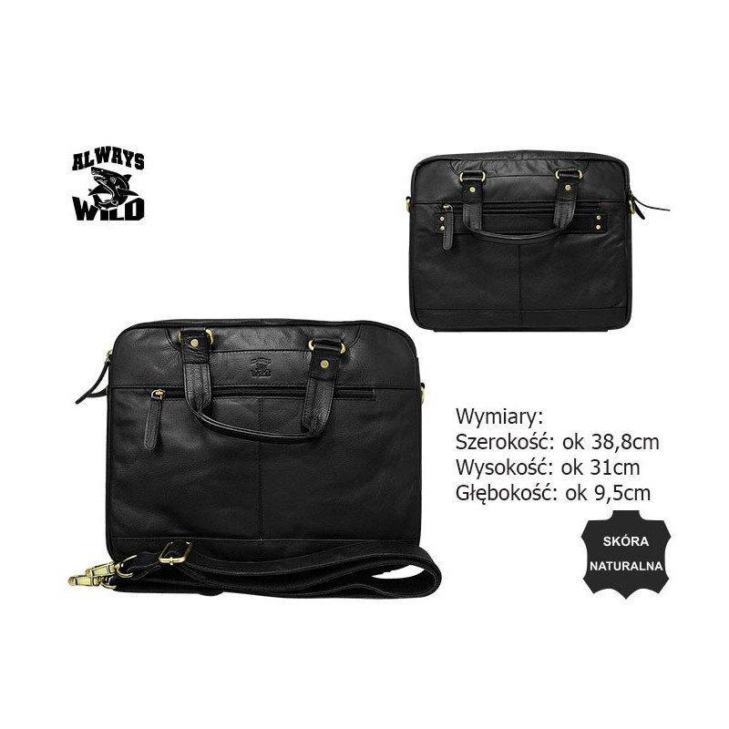 Кожаная сумка 801-15-PDM