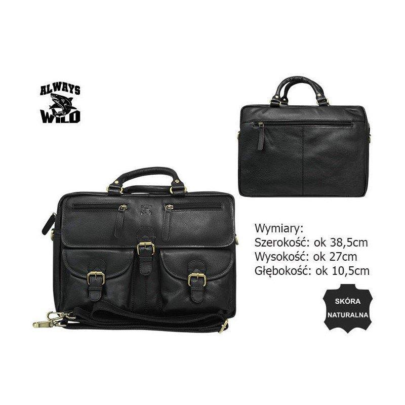 Шкіряна сумка CP-146-PDM