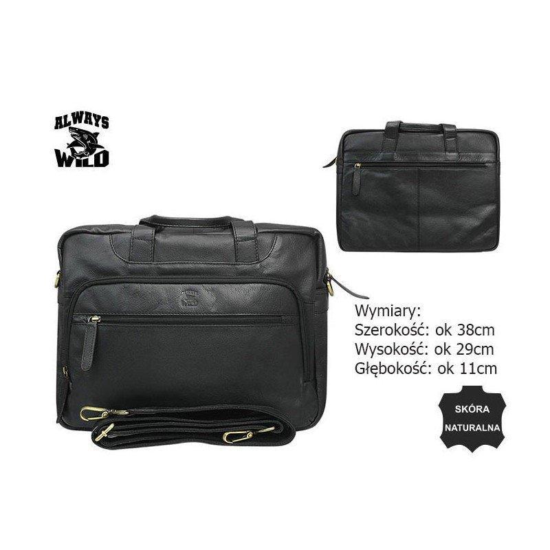 Кожаная сумка LAP-513-PDM