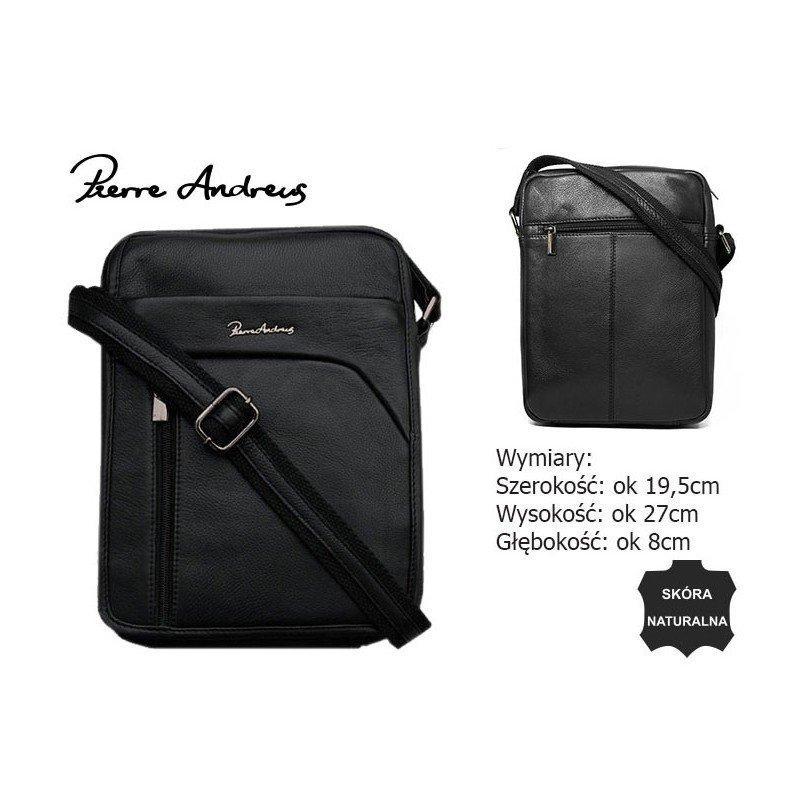 Шкіряна сумка Pierre Andreus 502-NDM-PA