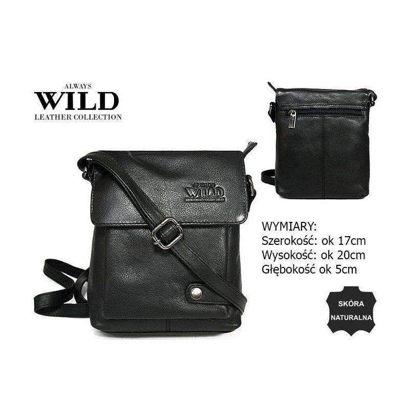Чоловіча шкіряна сумка 012-NDM